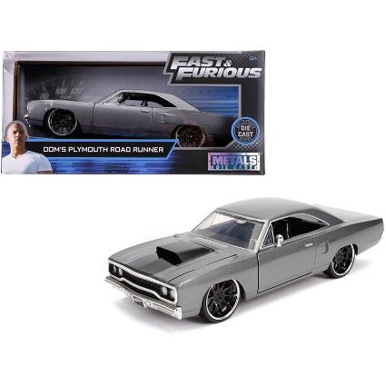 26013 WILD SPEED 1/24 DOM'S Plymouth Road Runner グレー